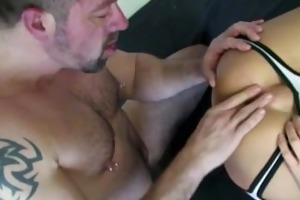 ocram takes a chubby daddy dick