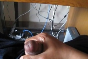 masturbating to coarse dad/son porn