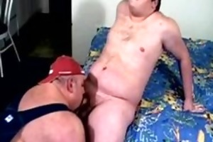 large bottom dad bear gets fucked