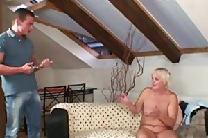 drunk orgy with concupiscent granny and her son