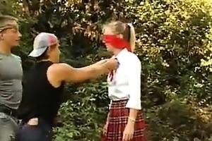 young girls fucking outside