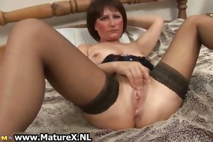 messy old in hawt lingerie fucking