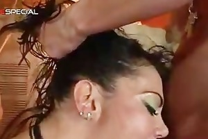 awesome pierced pussy milf engulfing part1