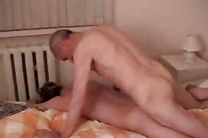 old fart drilling eagerly boys constricted anal