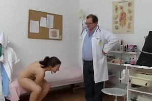 tarya king strips for medical exam