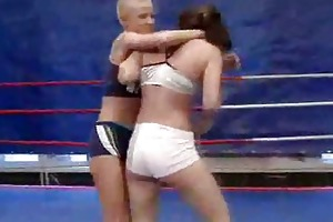 sexy young girls fighting with each other
