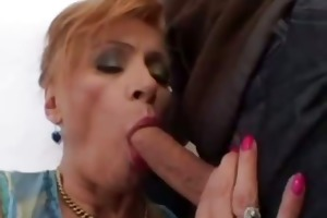 redhead cougar get screwed by younger stud
