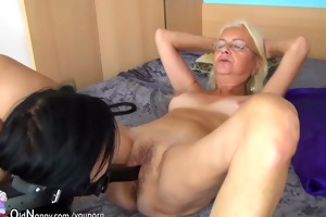 young cutie slaves her step mom, two lesbian babes