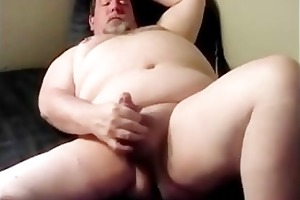 daddy hung chubby bear