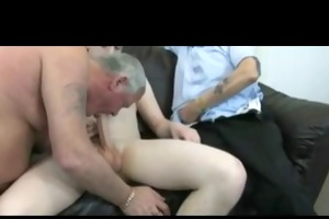 horny grandpas and twink bvr