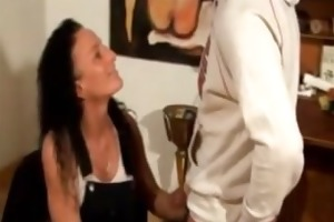 german milf fucked at home