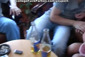 youthful girl stuffed in her face hole dick