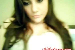hot 18 years old girl flashing bi