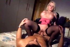smutty italian mature drilled by younger fellow