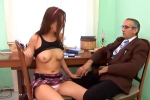 old man and youthful girl - 7