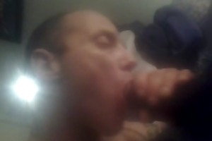 black daddy acquires oral sex from sons white