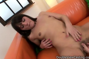 youthful hottie receives a cock in her rectal hole