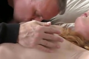 mom mature blond teaches him a thing or
