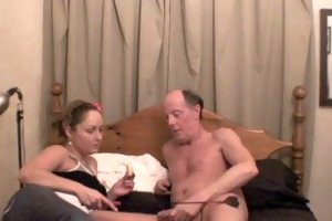 shannon - makes an old pervert boy cum