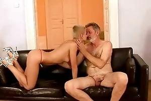 grandpa bonks his young girlfriend