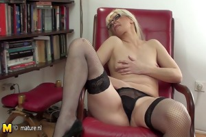 hot milf librarian and her old bawdy cleft
