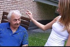 old man fucking his granddaughter for chastise