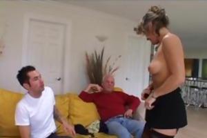 cougar babe seduces youthful man