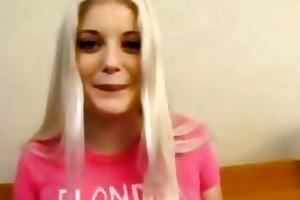 cumshot compilation of beautiful adorable blonde