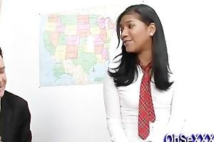 hot little slut fucking her teacher
