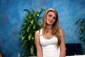 cute 18 year old staci seduced and drilled hard