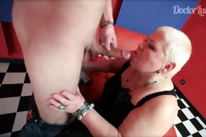 mature nurse engulfing youthful guys large pounder
