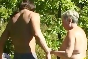 russian step mother fucked outside