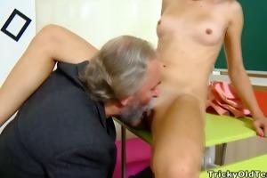 tricky old teacher - lora is a struggling student