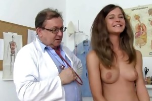 blonde angel veronica for nude medical exam