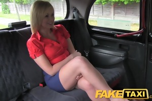 faketaxi sexy golden-haired d like to fuck gets