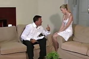 enjoyable young blond falls for her bfs daddy