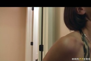 big-tit sexually excited brunette mother i