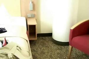 old german woman hotel