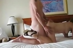 non-professional milf fucked doggy and bj