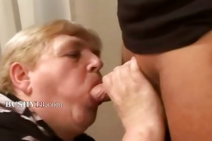 fuck a obese old hairy granny