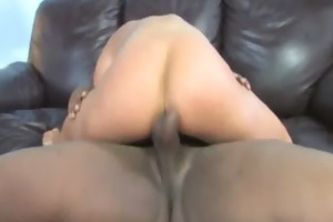 young daughter with valuable ass drilled by a
