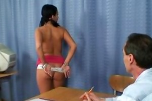 legal age teenager brunette showing her firm part6