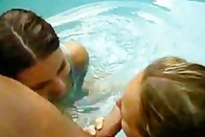 ffm bu the pool teen girls very cute