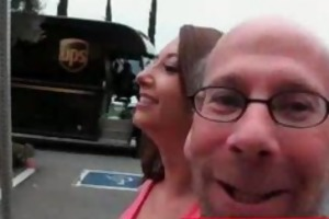 gia love picked up by old man