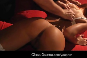 threesome with st class young women