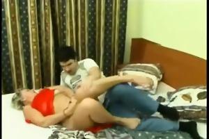 mature russian milf get seduced