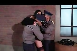 laura perego - italian milf fucked by two soldiers
