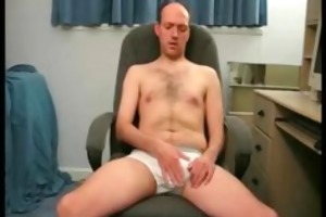 real dilettante dad jerking off on webcam