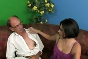 whore copulates someones granddad