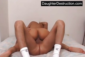 young legal age teenager daughter rougly